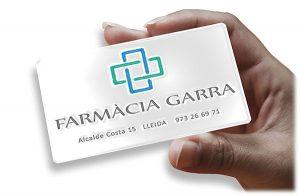 Targeta client Farmàcia Garra Lleida